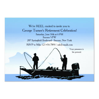 Convite dos amigos da pesca