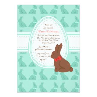 Convite dos coelhinhos da Páscoa