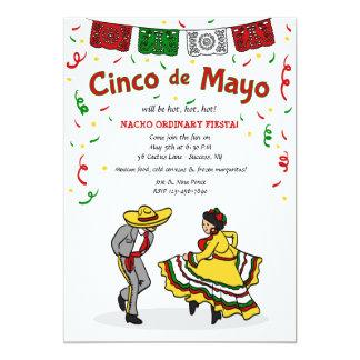 Convite dos dançarinos de Cinco de Mayo