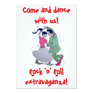 convite dos dançarinos do balanço