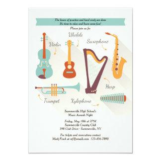 Convite dos instrumentos musicais