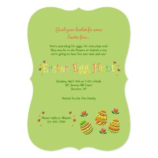 Convite dos ovos da páscoa