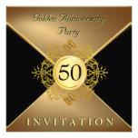 Convite elegante do aniversário do traje de cerimó