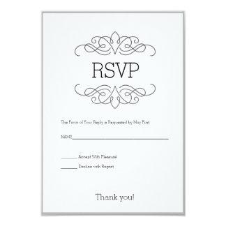 Convite elegante e moderno