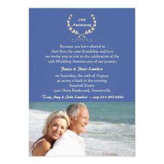 Convite encantador da foto do casal