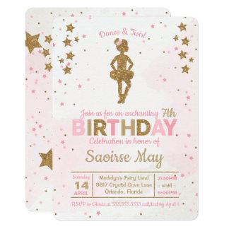 Convite Enchanting do aniversário da faísca da