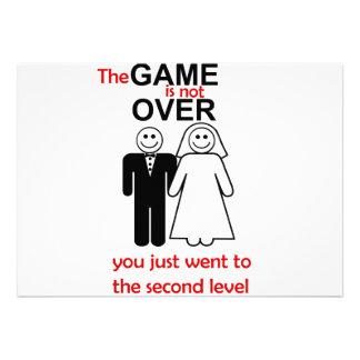 Convite engraçado do casamento