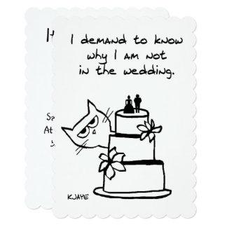 Convite engraçado do chá de casamento para amantes