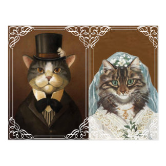 Convite engraçado e bonito do casamento