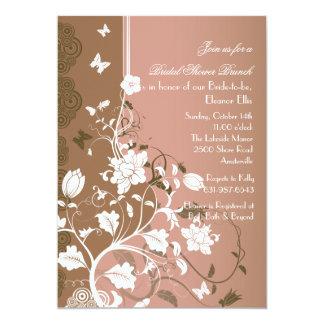 Convite floral cativando