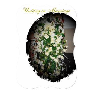 """Convite """"floral"""" do casamento do primavera"""