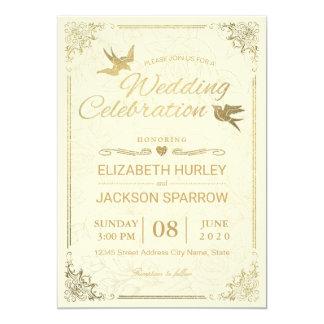 Convite floral do chá de casamento do quadro do