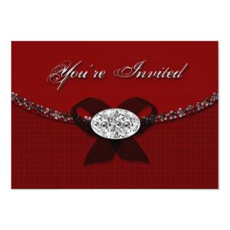 Convite formal com jóia