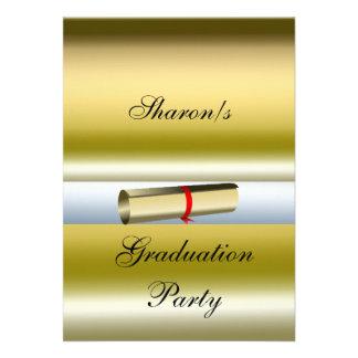 Convite formal da festa de formatura