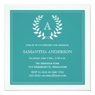 Convite formal da graduação da grinalda - cerceta