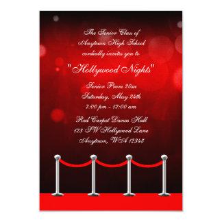 Convite formal do baile de formatura de prata