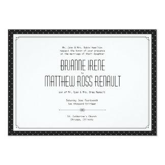 """Convite formal do casamento de """"Allcot"""""""