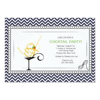 Convite formal do cocktail