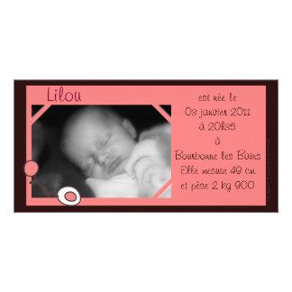 Convite foto Lilou
