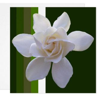 Convite - Gardenia em listras