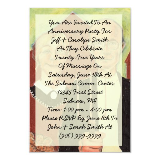 Convite gótico americano da festa de aniversário