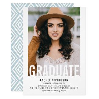 Convite graduado da festa de formatura da foto do