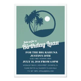 Convite grande do aniversário do CHURRASCO de