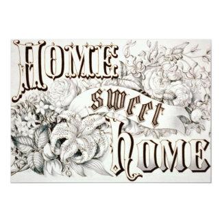 Convite Home doce Home do Housewarming