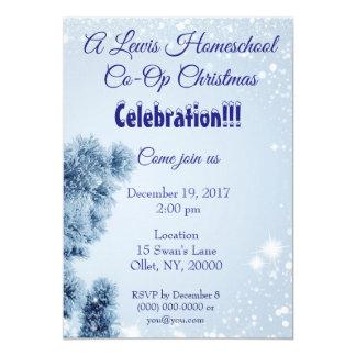 Convite Homeschool Co-op Christmas Party