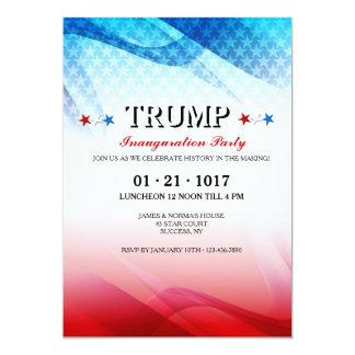 Convite inaugural da celebração americana