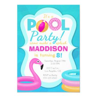 Convite inflável do aniversário da festa na