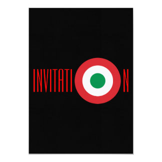 Convite italiano personalizado