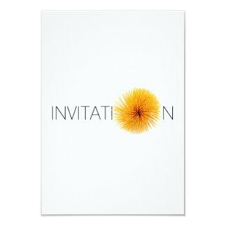 Convite italiano personalizado do comensal da