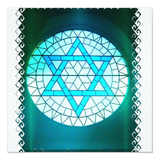 Convite judaico da estrela de David