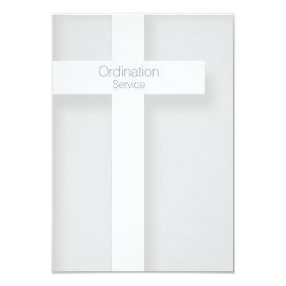 Convite moderno da classificação da igreja + Cruz