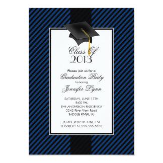 Convite moderno da festa de formatura da listra