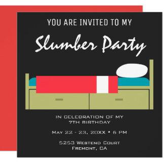 Convite moderno do aniversário do partido de