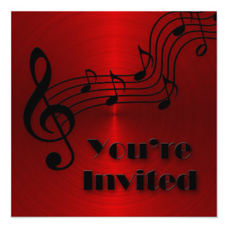 Convite - Musical - notas