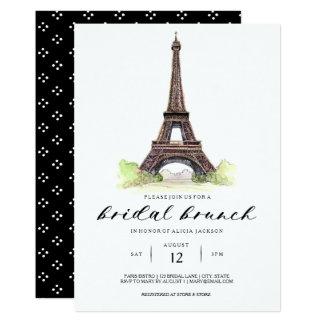 Convite nupcial da refeição matinal de Paris