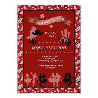 Convite ocidental dos dançarinos do país