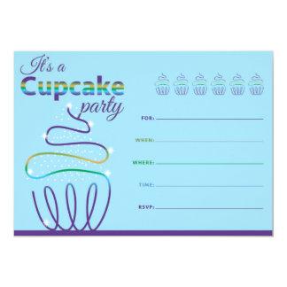 Convite - partido do cupcake