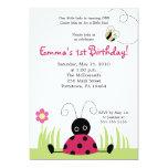 convite pequeno do aniversário do primavera do