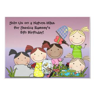 Convite personalizado do aniversário da caminhada
