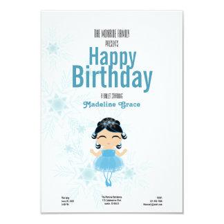 convite preto-de cabelo do aniversário da