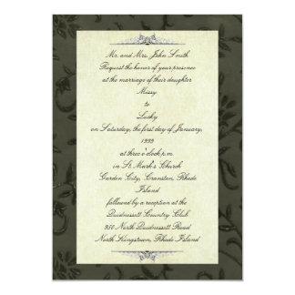Convite preto formal
