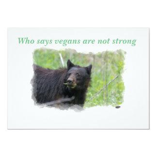 Convite - quem diz que os vegans não são fortes!!!