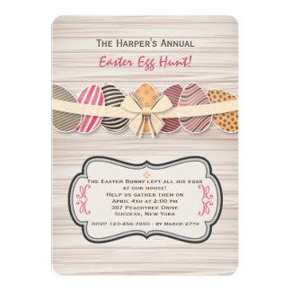 Convite rejubilante dos ovos da páscoa