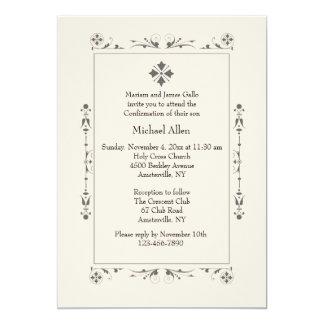 Convite religioso clássico