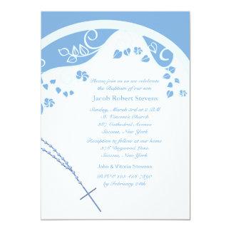 Convite religioso da abóbada azul