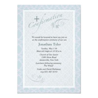 Convite religioso da confirmação de Chantilly
